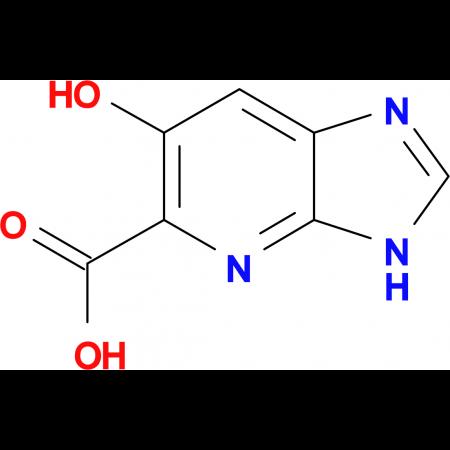 6-hydroxy-3H-imidazo[4,5-b]pyridine-5-carboxylic acid