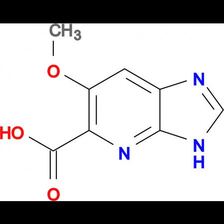 6-methoxy-3H-imidazo[4,5-b]pyridine-5-carboxylic acid