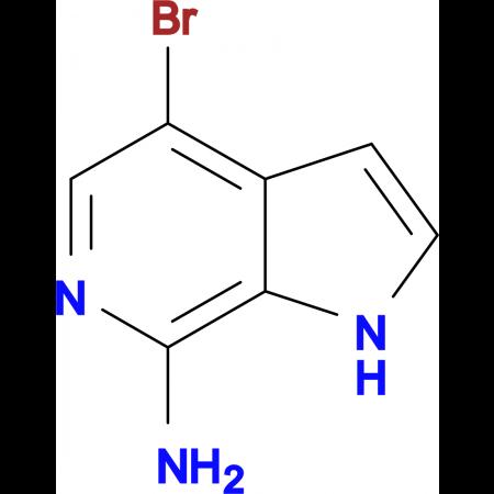 4-bromo-1H-pyrrolo[2,3-c]pyridin-7-amine