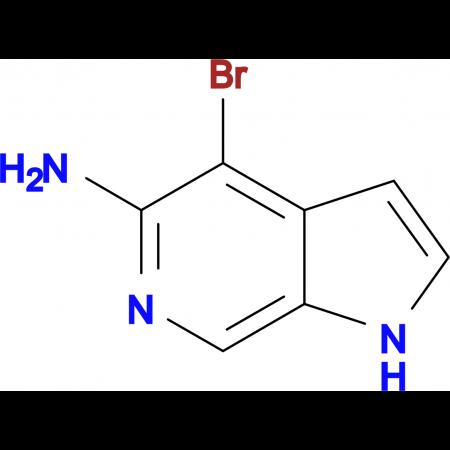 4-bromo-1H-pyrrolo[2,3-c]pyridin-5-amine
