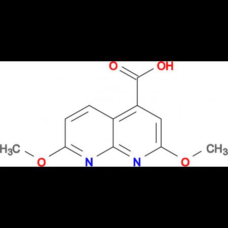 2,7-dimethoxy-1,8-naphthyridine-4-carboxylic acid