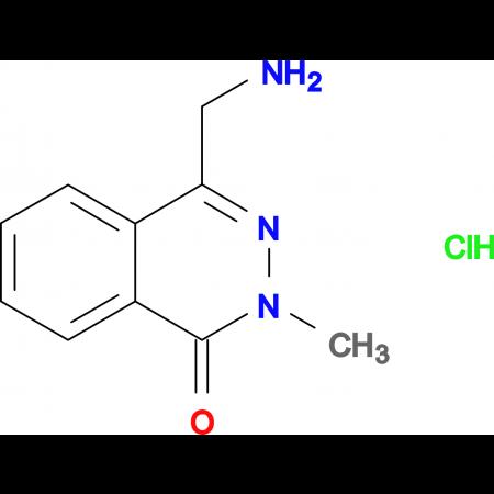 4-(aminomethyl)-2-methylphthalazin-1(2H)-one hydrochloride