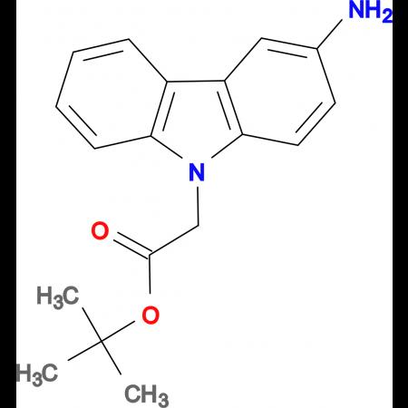 tert-butyl (3-amino-9H-carbazol-9-yl)acetate