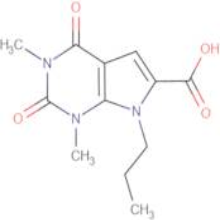 1,3-dimethyl-2,4-dioxo-7-propyl-2,3,4,7-tetrahydro-1H-pyrrolo[2,3-d]pyrimidine-6-carboxylic acid