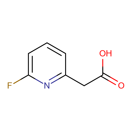 2-(6-Fluoropyridin-2-yl)acetic acid