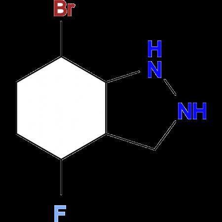 7-BROMO-4-FLUORO-1H-INDAZOLE
