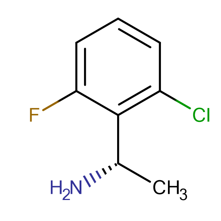 (S)-1-(2-CHLORO-6-FLUOROPHENYL)ETHANAMINE