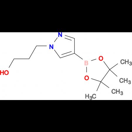3-[4-(4,4,5,5-Tetramethyl-1,3,2-dioxaborolan-2-yl)-1H-pyrazol-1-yl]propan-1-ol