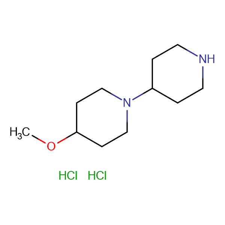 4-METHOXY-1,4'-BIPIPERIDINE 2HCL