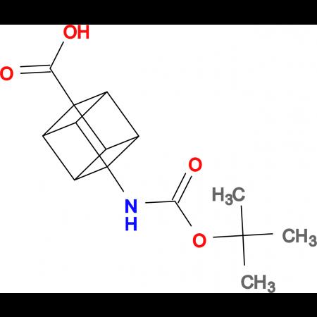 (1s,2R,3r,8S)-4-((tert-butoxycarbonyl)amino)cubane-1-carboxylic acid