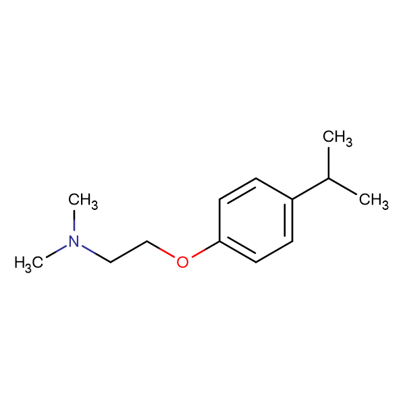 2-(4-Isopropylphenoxy)-N,N-dimethylethanamine