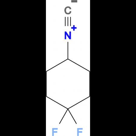 1,1-difluoro-4-isocyanocyclohexane