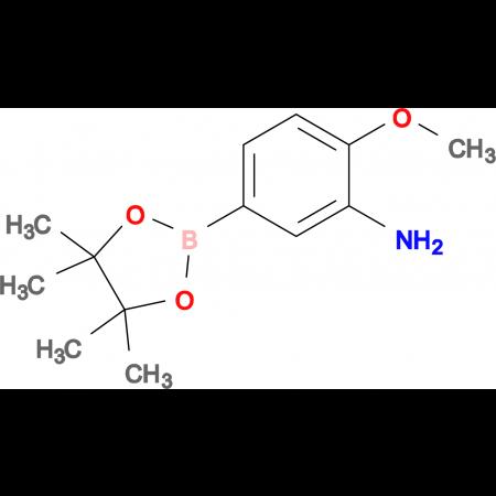 2-Methoxy-5-(4,4,5,5-tetramethyl-1,3,2-dioxaborolan-2-yl)aniline