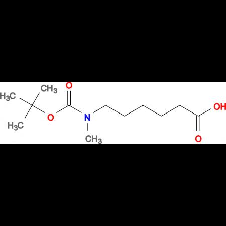 6-(tert-Butoxycarbonyl-methyl-amino)-hexanoic acid