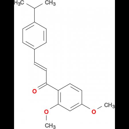 (2E)-1-(2,4-dimethoxyphenyl)-3-[4-(propan-2-yl)phenyl]prop-2-en-1-one