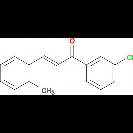 (2E)-1-(3-chlorophenyl)-3-(2-methylphenyl)prop-2-en-1-one