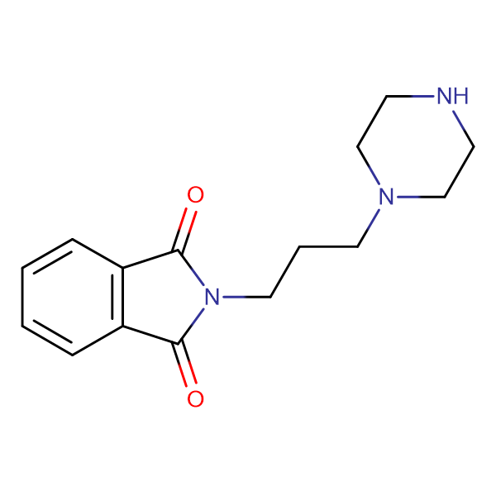 2-[3-(piperazin-1-yl)propyl]-2,3-dihydro-1H-isoindole-1,3-dione