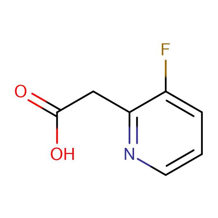 2-(3-FLUOROPYRIDIN-2-YL)ACETIC ACID