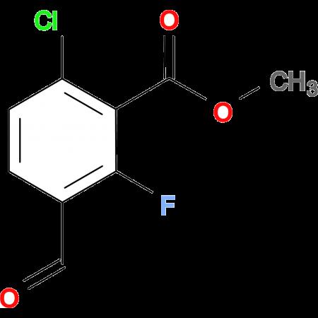 METHYL 6-CHLORO-2-FLUORO-3-FORMYLBENZOATE