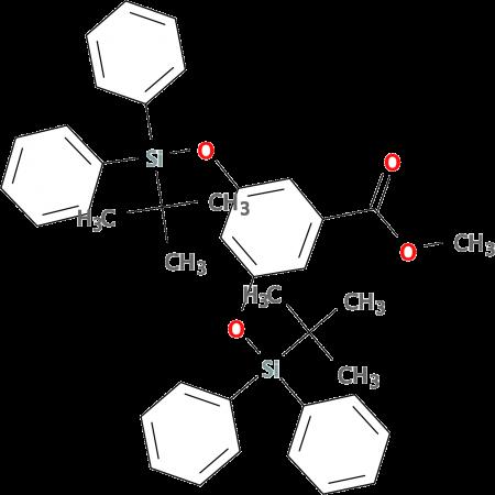 3,5 Bis(tert-butyldiphenylsilyloxy)benzoic acidmethylether 20% in toluene