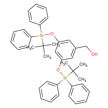 3,5 Bis(tert-butyldiphenylsilyloxy)benzylalcohol