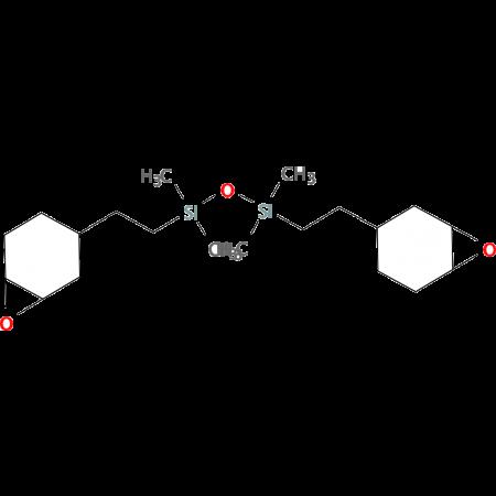 1,3 Bis[2(3,4 epoxycyclohex-1-yl)ethyl]tetra- methyldisiloxane