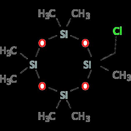 Chloromethyl heptamethyl cyclotetrasiloxane