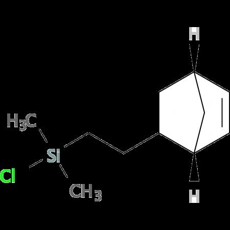 [(Bicycloheptenyl)ethyl]methyldichlorosilane, tech 95, endo/exo isomers