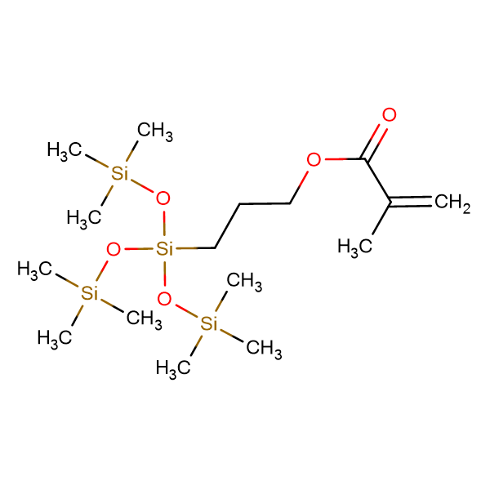 Tris(trimethylsiloxy)-3-methacryloxypropylsilane 4-6% dimer