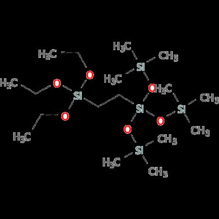 Tris(trimethylsiloxy)silylethyltriethoxy-silane