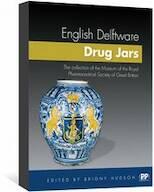 English Delftware Drug Jars