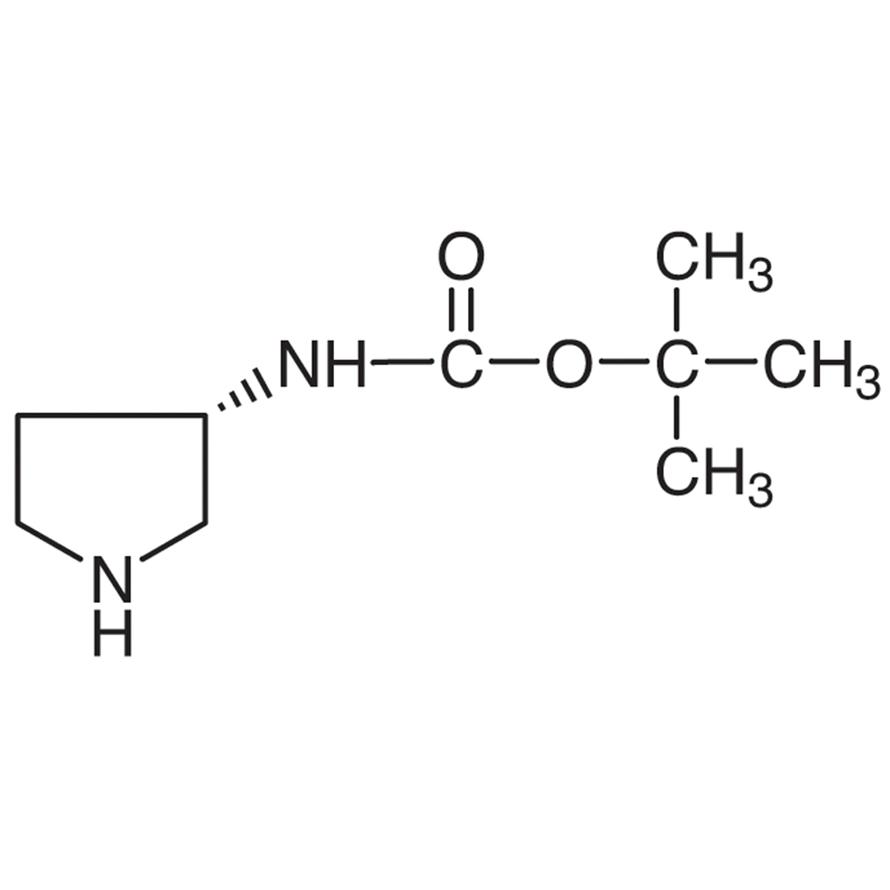 (3S)-(-)-3-(tert-Butoxycarbonylamino)pyrrolidine
