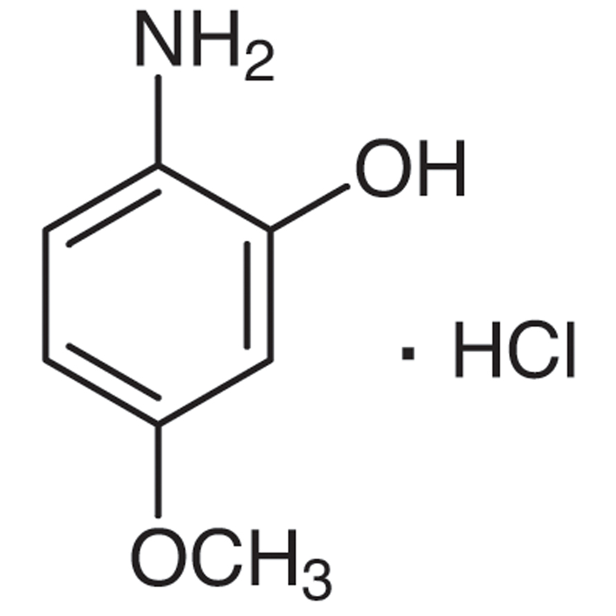 2-Hydroxy-4-methoxyaniline Hydrochloride