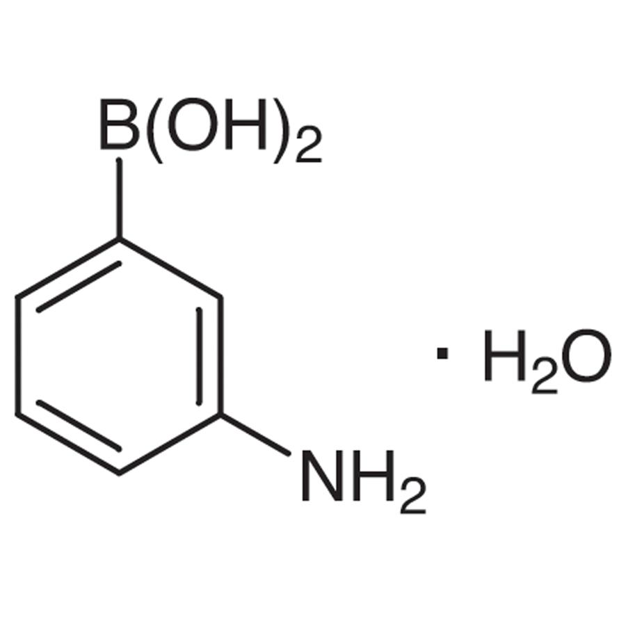 3-Aminophenylboronic Acid Monohydrate (contains varying amounts of Anhydride)
