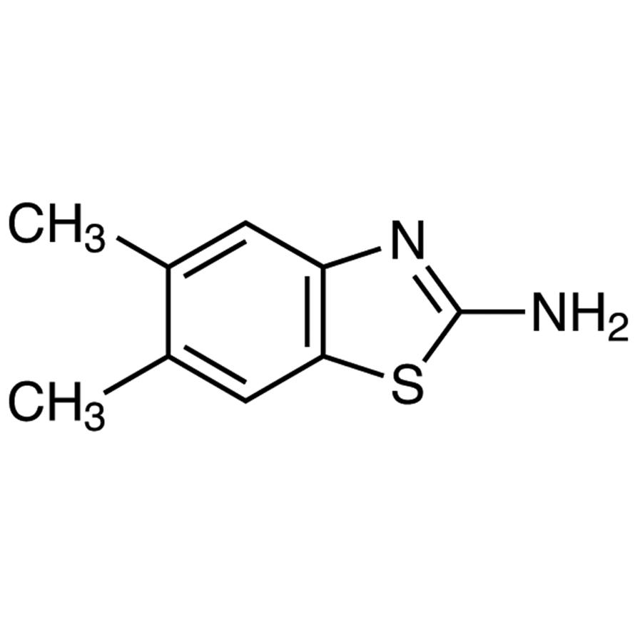 2-Amino-5,6-dimethylbenzothiazole