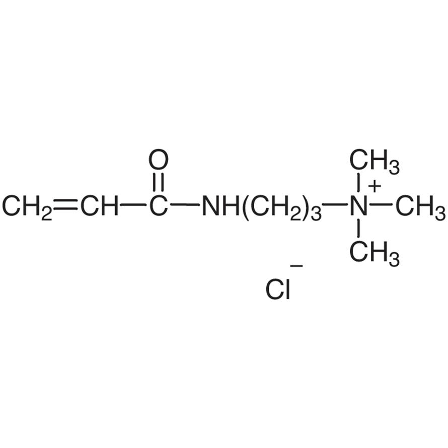 (3-Acrylamidopropyl)trimethylammonium Chloride (74-76% in Water) (stabilized with MEHQ)