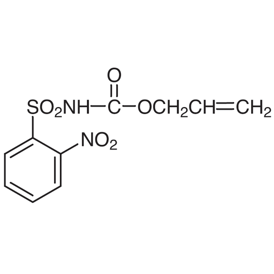 N-Allyloxycarbonyl-2-nitrobenzenesulfonamide