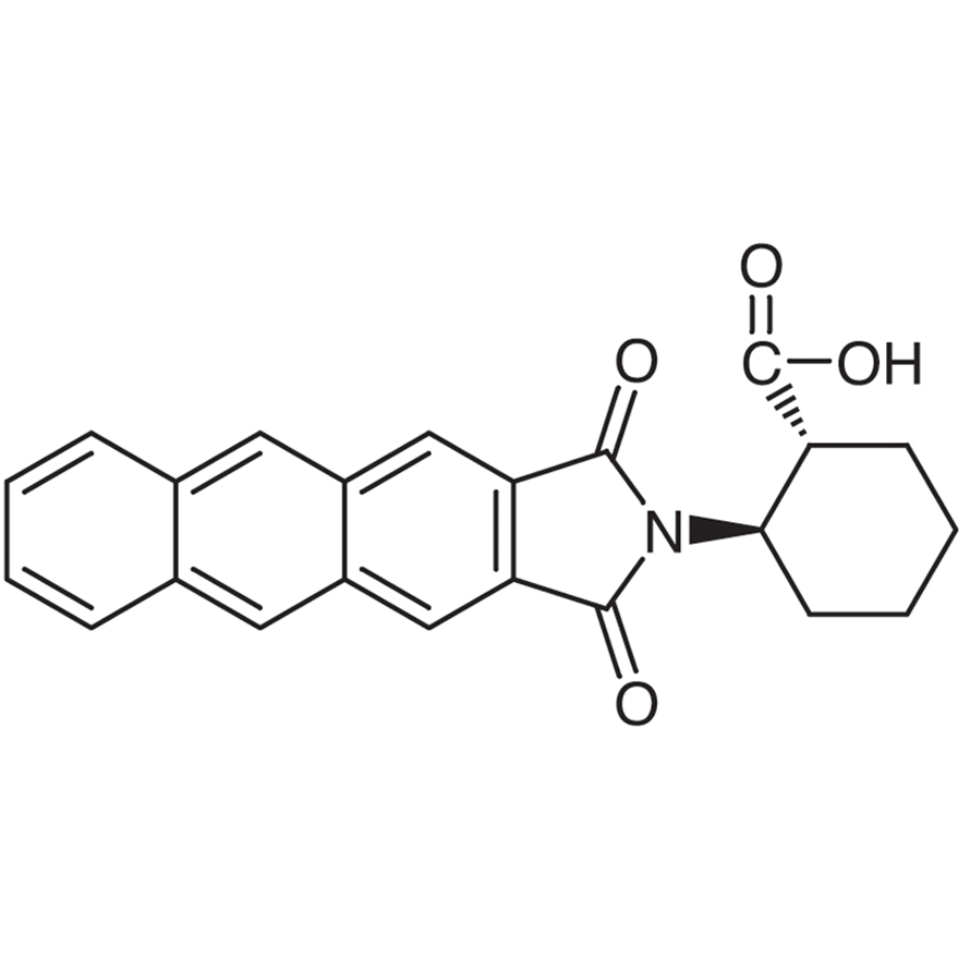 (1R,2R)-2-(Anthracene-2,3-dicarboximido)cyclohexanecarboxylic Acid