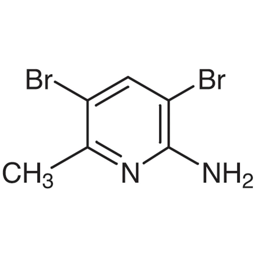 2-Amino-3,5-dibromo-6-methylpyridine