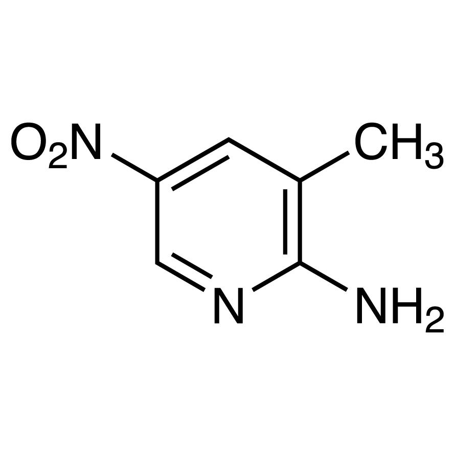2-Amino-3-methyl-5-nitropyridine