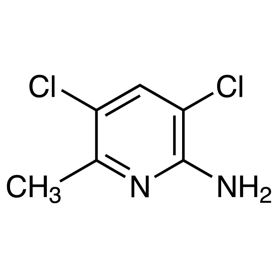 2-Amino-3,5-dichloro-6-methylpyridine