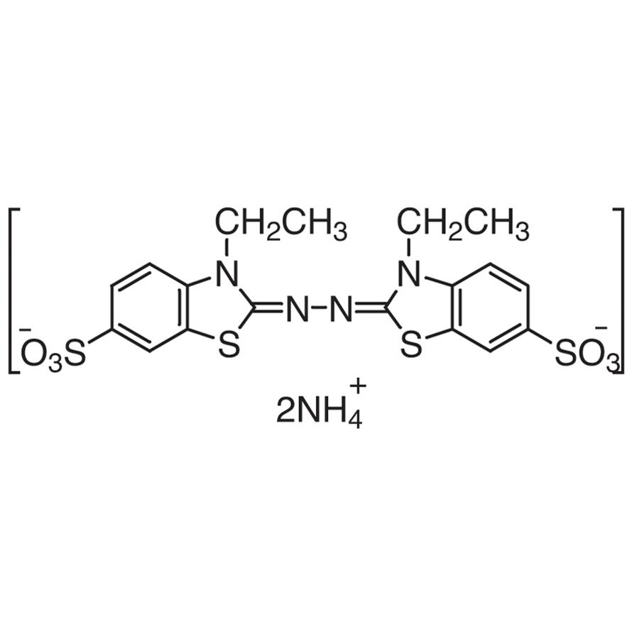 AzBTS [=2,2'-Azinobis(3-ethylbenzothiazoline-6-sulfonic Acid Ammonium Salt)] [for Biochemical Research]