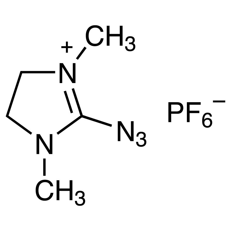 2-Azido-1,3-dimethylimidazolinium Hexafluorophosphate