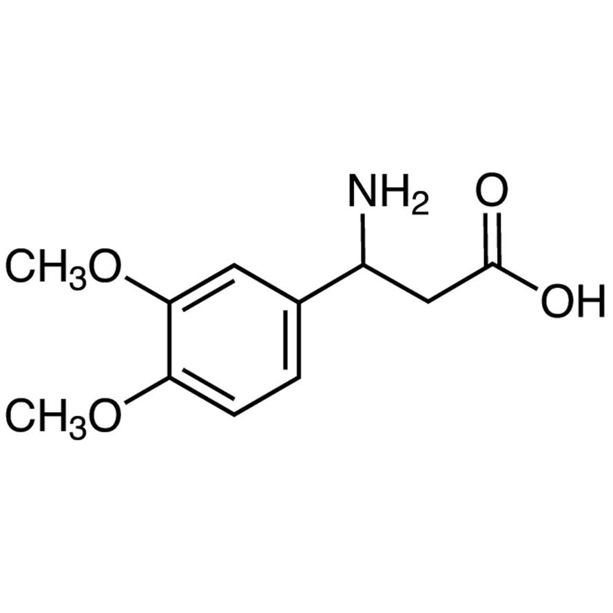 3-Amino-3-(3,4-dimethoxyphenyl)propionic Acid