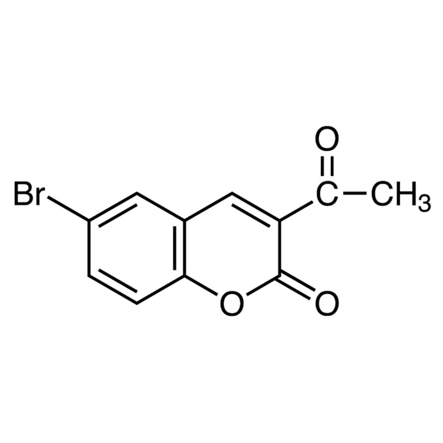 3-Acetyl-6-bromocoumarin