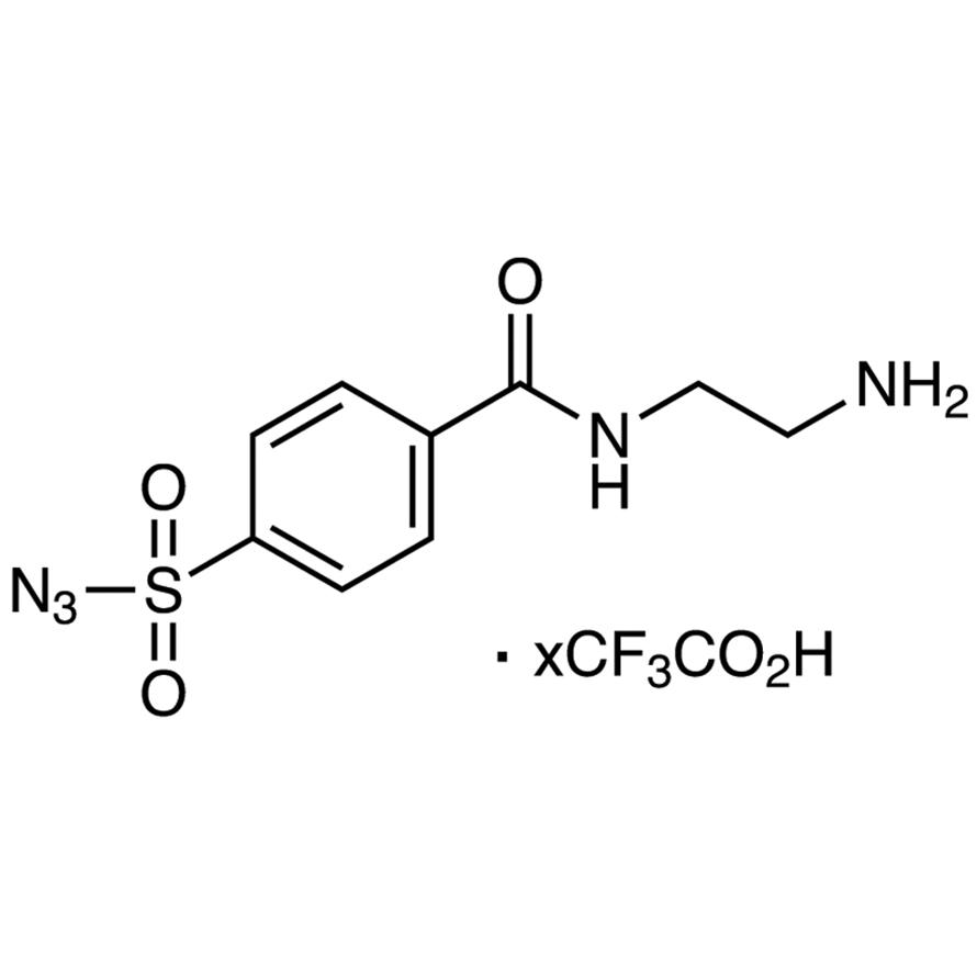 4-[(2-Aminoethyl)carbamoyl]benzenesulfonyl Azide Trifluoroacetate
