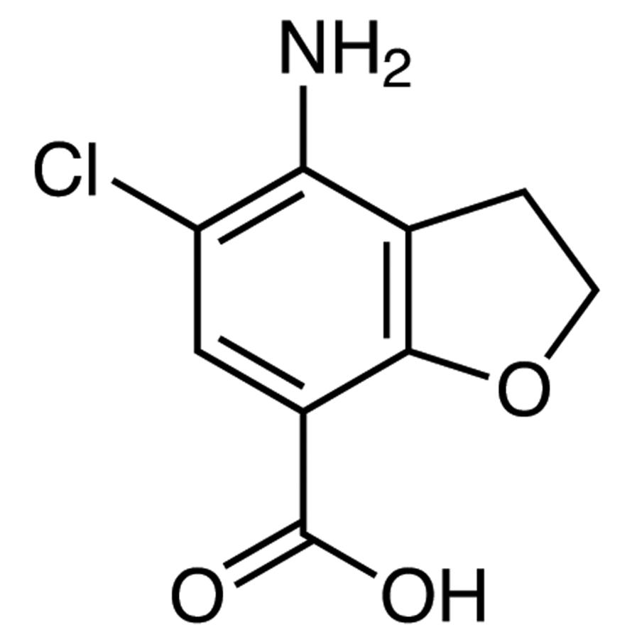 4-Amino-5-chloro-2,3-dihydrobenzofuran-7-carboxylic Acid