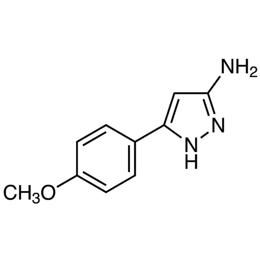3-Amino-5-(4-methoxyphenyl)pyrazole