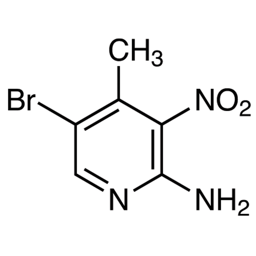 2-Amino-5-bromo-4-methyl-3-nitropyridine