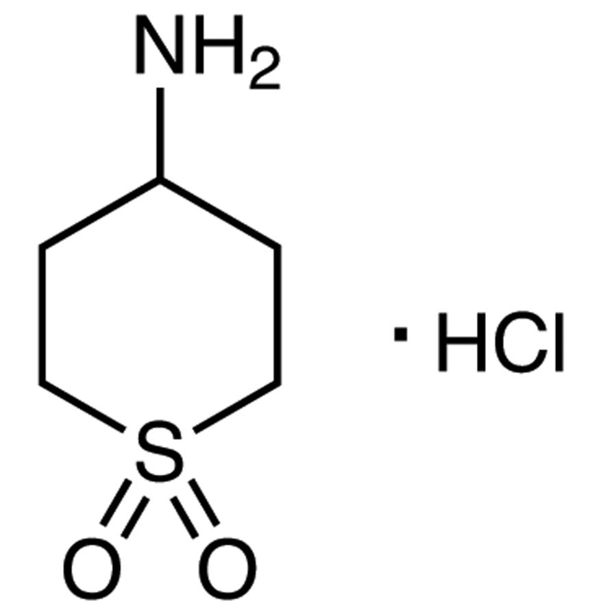 4-Aminotetrahydro-2H-thiopyran 1,1-Dioxide Hydrochloride